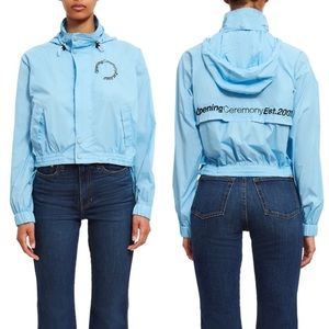 Opening Ceremony Cropped Wind Jacket Small
